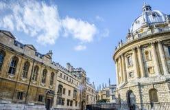 Radcliffe kamera przy uniwersytetem Oxford fotografia stock