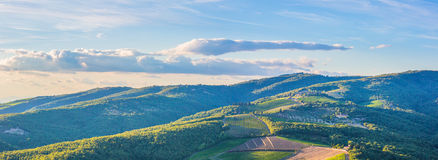 Radda in Chianti countryside royalty free stock images