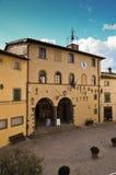 Radda em Chianti, câmara municipal do palácio, Toscânia 6 Imagem de Stock