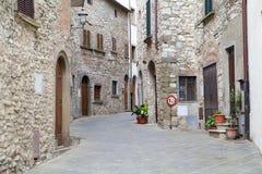 Radda em Chianti, Toscânia, Italy imagens de stock