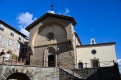 Radda i Chianti, prästgård av St Nicholas, Tuscany 2 Royaltyfria Bilder