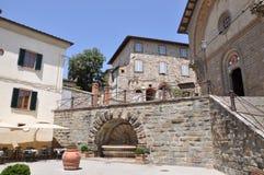 Radda i Chianti Tuscany Italien royaltyfri bild