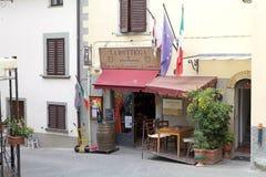 radda Toscane de l'Italie de chianti photographie stock