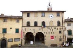 radda Toscane de l'Italie de chianti photo stock
