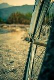Raddetail eines Fahrrades Lizenzfreies Stockbild