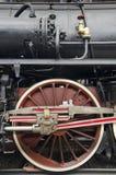 Raddetaillokomotive lizenzfreie stockfotografie