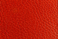 Raddle brown leather texture. Close up of raddle brown leather texture Royalty Free Stock Photo