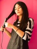 Raddrizzatori dei capelli Fotografie Stock Libere da Diritti