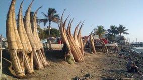 Radeaux de plage Photo stock