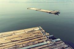 Radeaux en bambou Photographie stock