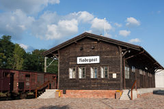Radegast rail station Stock Photos