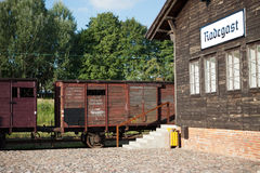 Radegast rail station Stock Image