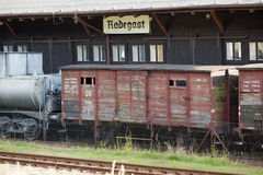 Radegast rail station Royalty Free Stock Photo