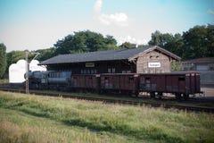 Radegast rail station Stock Photo