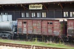Radegast Schienenstation lizenzfreies stockfoto
