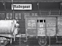 Radegast station deportation. Stock Photography
