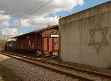 Radegast station, härifrån till evighet Royaltyfria Foton