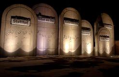 Radegast Station, the legacy of Nazism. Royalty Free Stock Photography