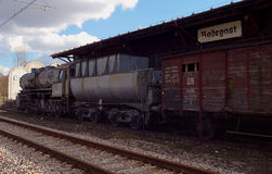 Radegast-Station, von hier zur Ewigkeit Stockfoto