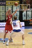 Radek Necas - CEZ Basketball Nymburk Stock Photos