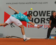 Radek Stepanek, Tennis 2012 Stock Afbeelding