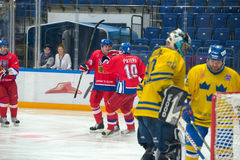 Radek Topual (18) and Pavel Patera (10) Royalty Free Stock Photography