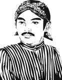 Raden Mas Said Vector Royalty Free Stock Photos