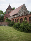 Radensleben-Dorfkirche-Campo Royalty Free Stock Photos
