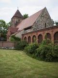 Radensleben-Dorfkirche-Campo royalty free stock photos