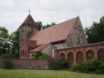 Radensleben-Dorfkirche Stock Photography