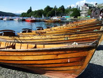 Rader av fartyg Royaltyfri Bild