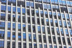 Rader och rader av Windows Royaltyfria Bilder