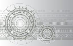 Radertje de achtergrondwieltechnologie is gebaseerde op tijd Moderne toestand en snelle het werk stijl voor tekstinput of divers  royalty-vrije illustratie