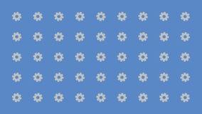 Radertjes die willekeurig beeldverhaal vectorachtergrond draaien stock illustratie