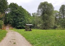 Radesov, Czechia 库存照片