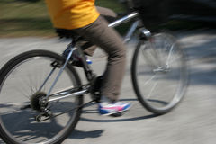 Radfahren 2 Stockbild