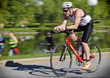 Radfahren Stockfoto