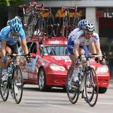 Radfahren: Autogiro dâItalia des Jahrhunderts - 2009 Stockbilder