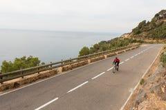 Radfahren des frühen Morgens stockfotos