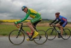 Radfahren, Extraliga-Meister, Straßenrennen stockfoto