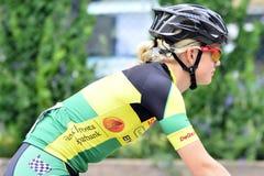 Radfahrendamen Lizenzfreie Stockfotografie
