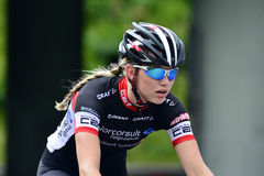 Radfahrendamen Lizenzfreies Stockfoto