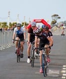 Radfahrenfestival Eastbournes - 4. Kategorien-Straßenrennen Stockbilder