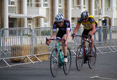 Radfahrenfestival Eastbournes - 4. Kategorien-Straßenrennen Lizenzfreies Stockfoto