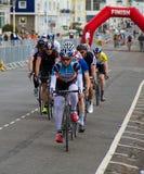 Radfahrenfestival Eastbournes - 4. Kategorien-Straßenrennen Lizenzfreie Stockfotografie