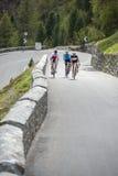 Radfahrengruppe der Straße Lizenzfreie Stockbilder