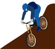 Radfahrenmountainbike-Sport Stockfotografie