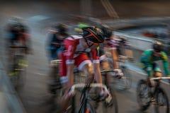 Radfahrenrennen Innen Lizenzfreie Stockfotografie