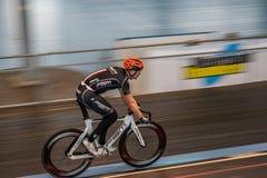 Radfahrenrennen Innen Lizenzfreie Stockfotos