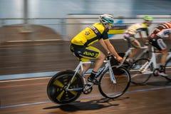 Radfahrenrennen Innen Lizenzfreies Stockfoto